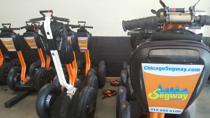 A Chicago Segway Tour is a great way to see the city without all the walking.