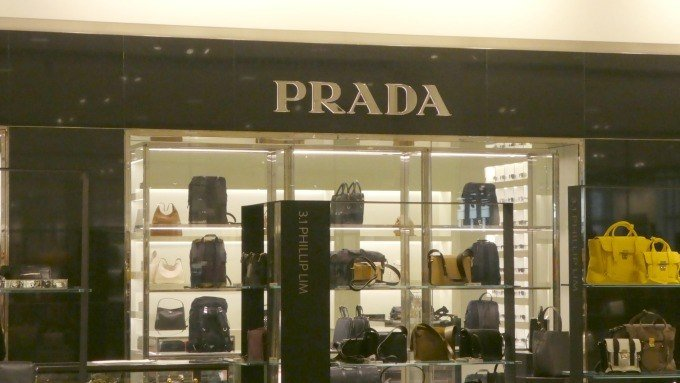 Prada is one of the high end retailers you'll find in Chicago.