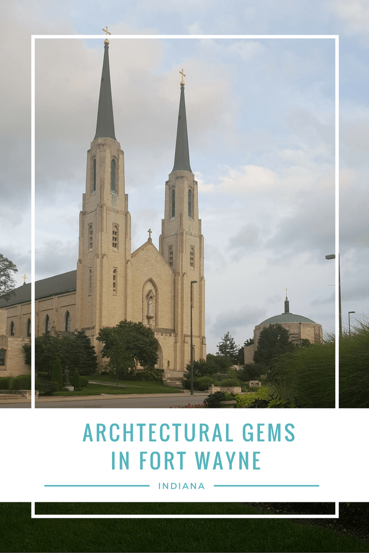 The second largest city in Indiana is full of history- and that includes historic buildings and stunning Fort Wayne architecture. Check out these five architectural gems I found on a recent visit to the city.