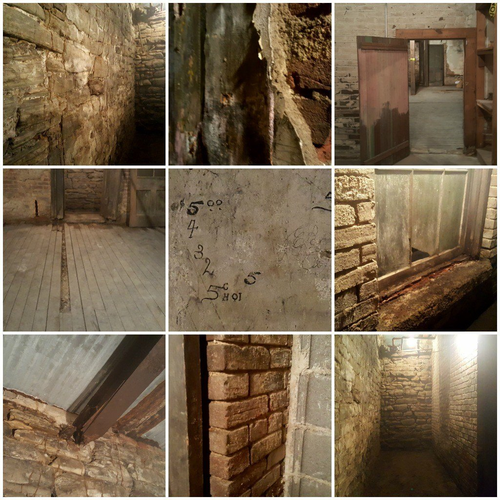 Pictures from my Underground Cambridge Tour.