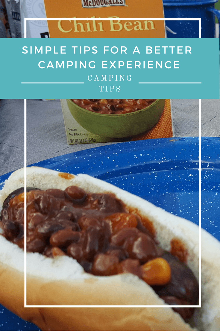 Simple tips for a better camping experience