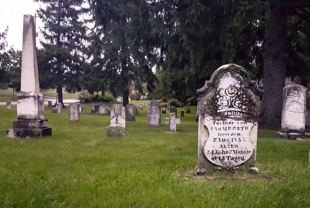 Walking in a cemetery is both relaxing and educational.