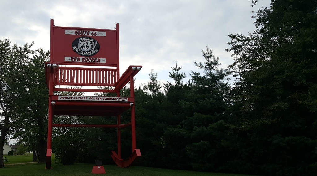 Former World's Largest Rocking Chair