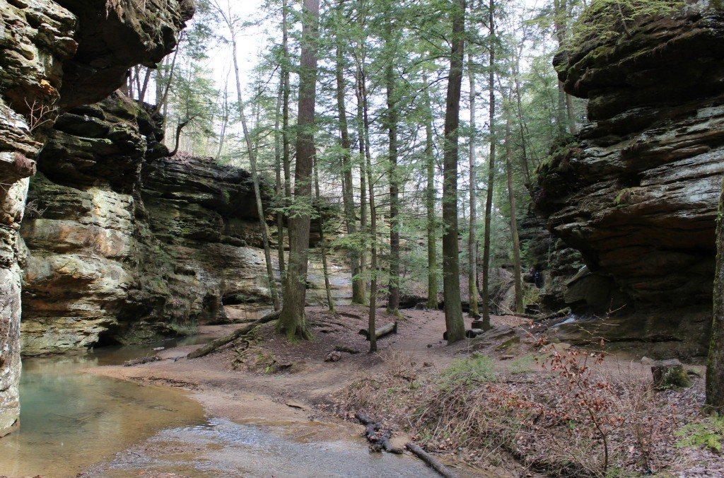 Escape to scenic Hocking Hills for a romantic getaway for two.