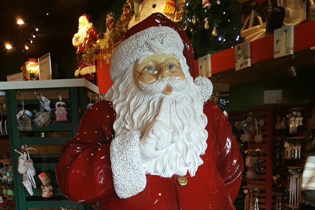 Running into Santa Claus in Indiana