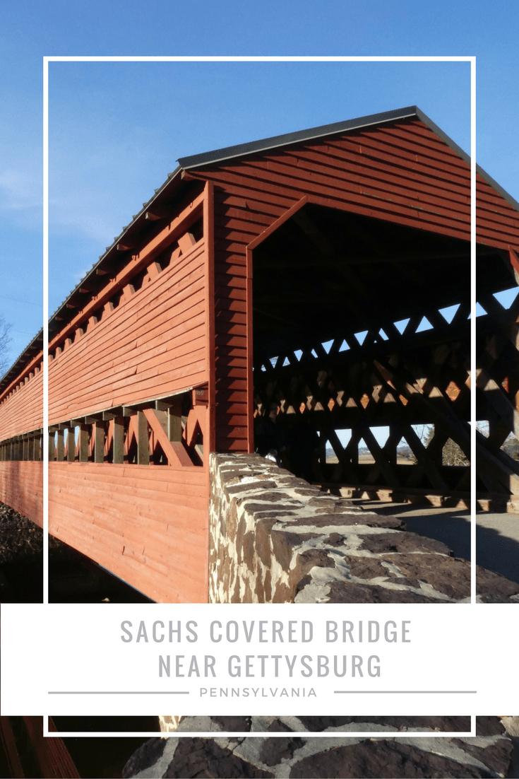 SACHS COVERED BRIDGE NEAR GETTYSBURG