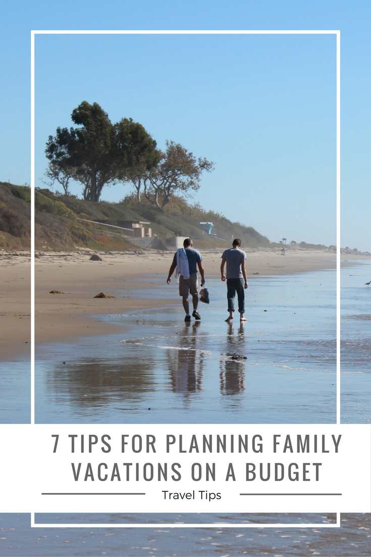 Easy tips to help you plan family vacations on a budget.