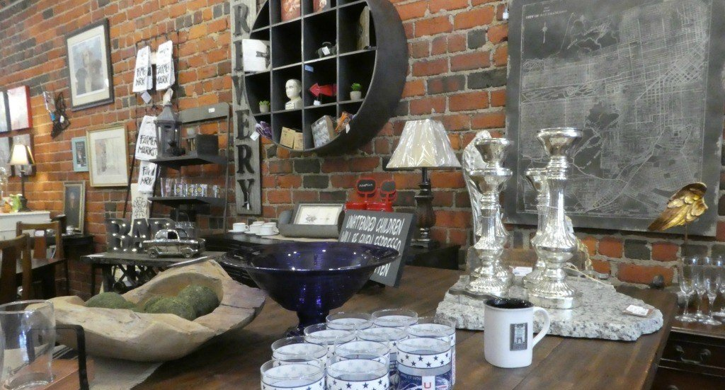 Shopping in Wooster- the Urban Cottage consignment shop is full of treasures
