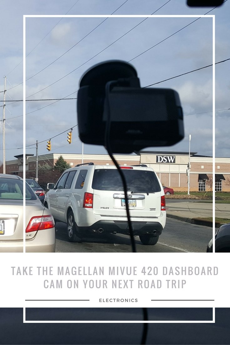 Take the Magellan MiVue 420 Dashboard Cam on your next Road Trip. #MagellanGPS