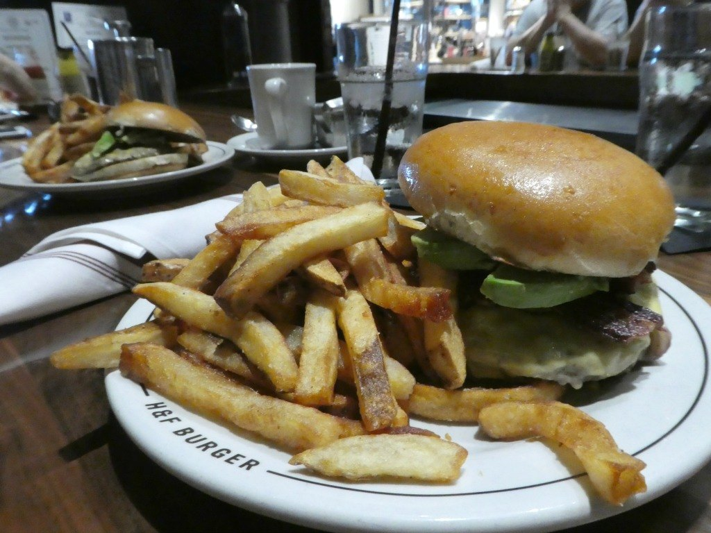H & F Burger in the Ponce City Market