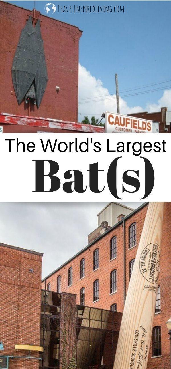 Two bat roadside attractions in Louisville KY