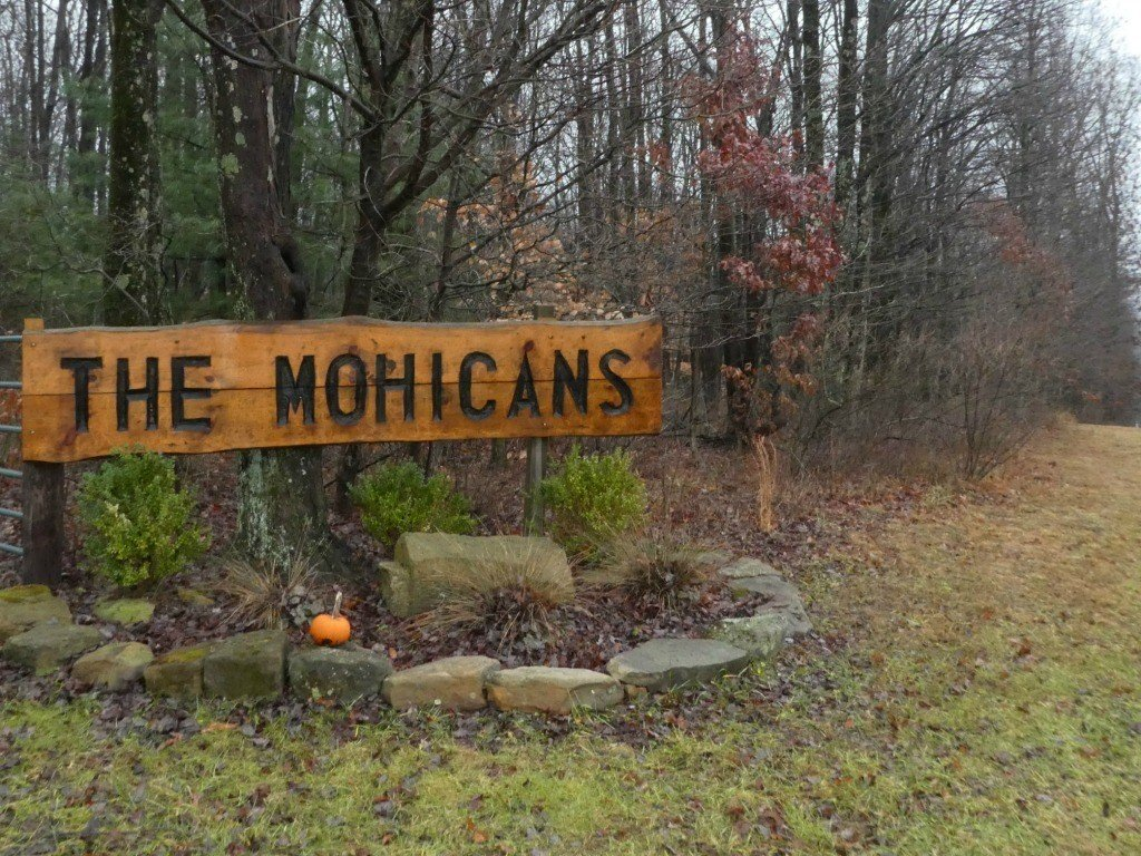 The entrance to the Mohicans