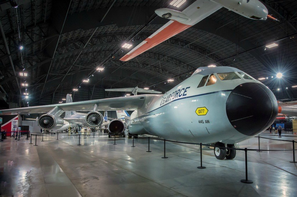 Air Force museum near Dayton