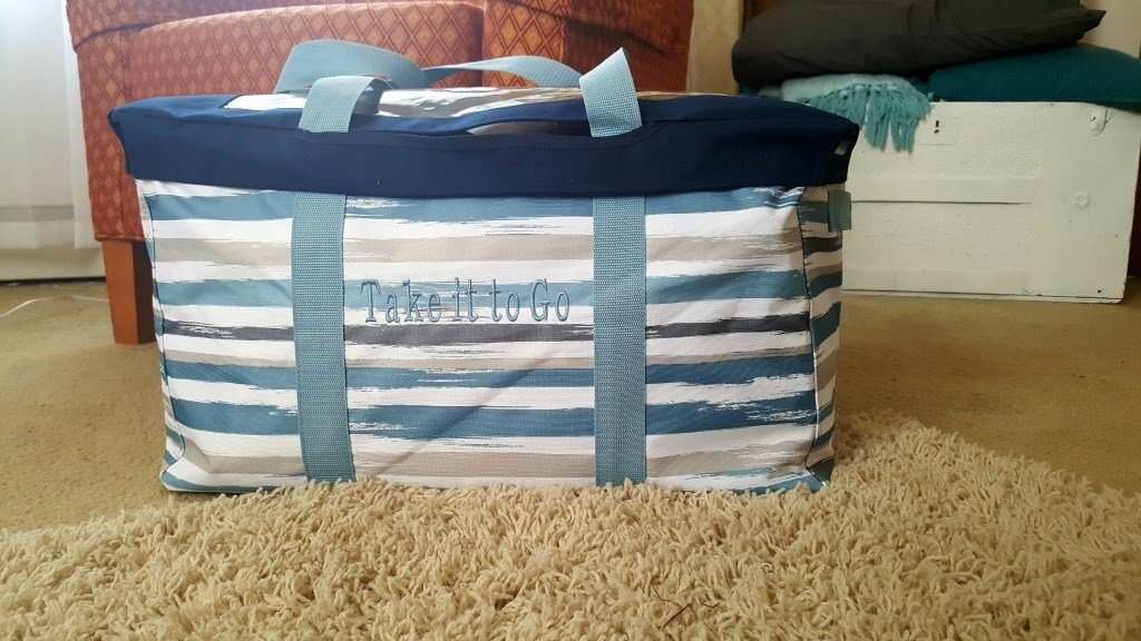 Brush Strokes Large Utility Tote by Thirty-One Gifts