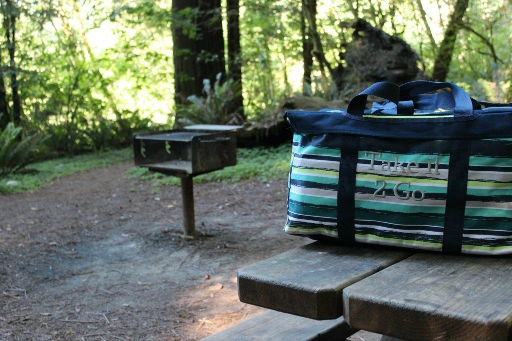 Large Utility Tote in the Redwoods
