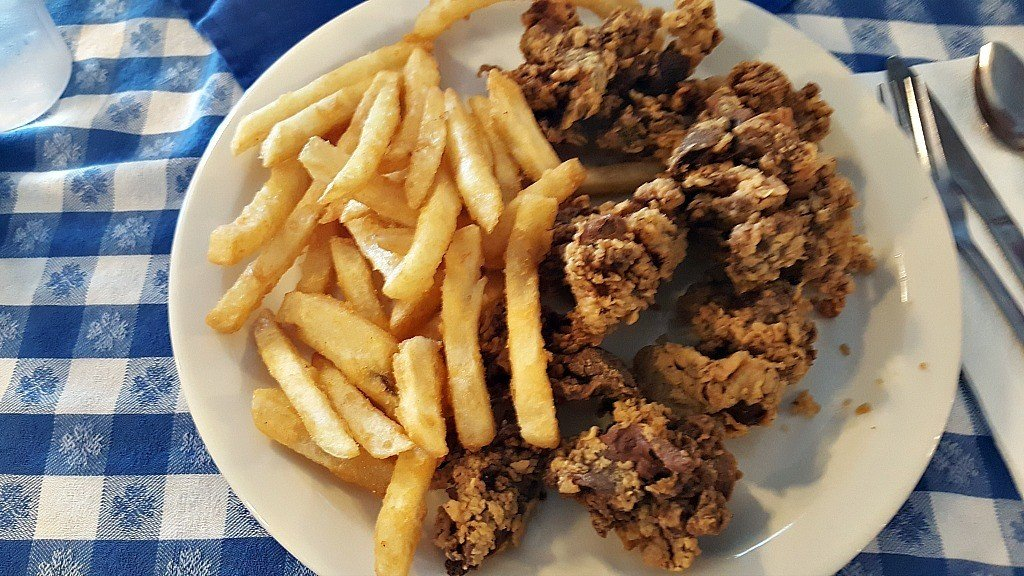 Liver and fries at the Blue Springs diner