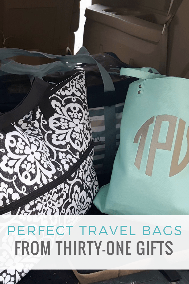 Perfect Travel Bags from Thirty-One Gifts