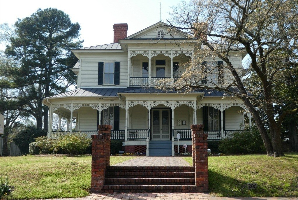 The 1897 E.A. Poe House in Fayetteville