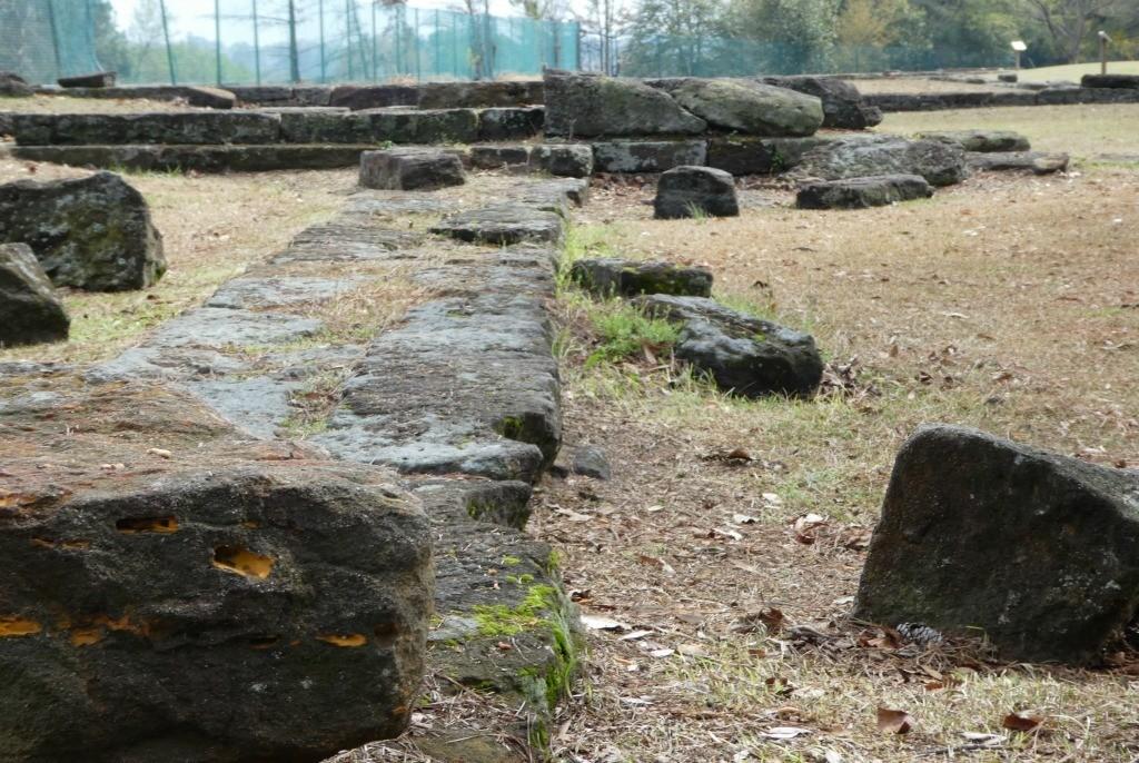 Ruins at the arsenal in Fayetteville North carolina
