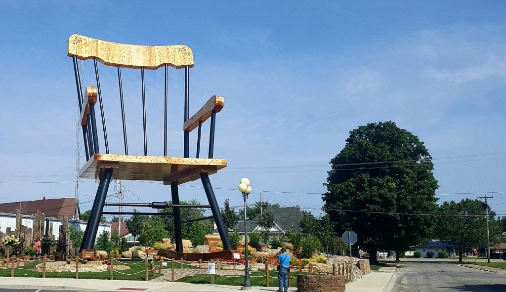 The World's Largest Rocking Chair in Casey, IL