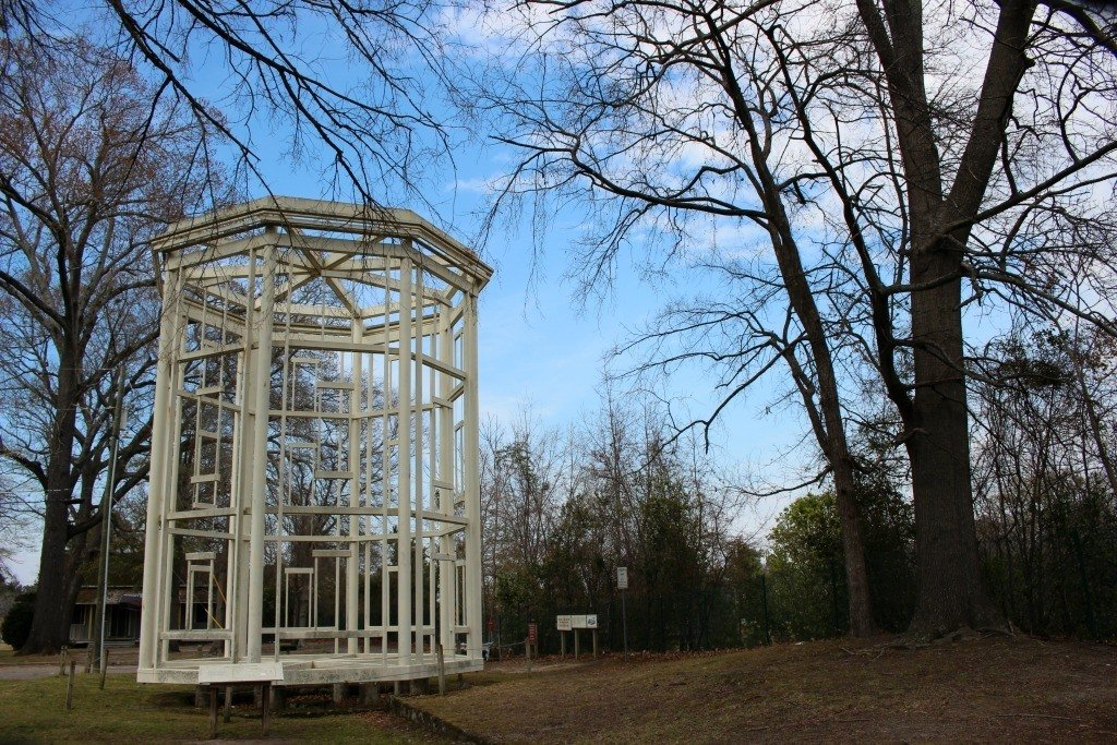 Things to do in Fayetteville North Carolina- the Ghost Arsenal at Cape Fear Museum Complex