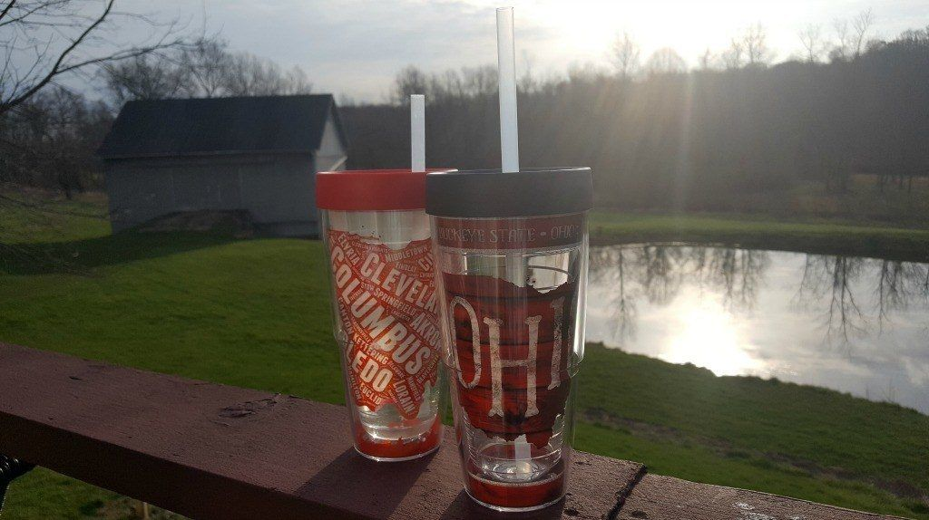 I love these Ohio Tervis Tumbler prints. Perfect for showing off your Buckeye Pride!