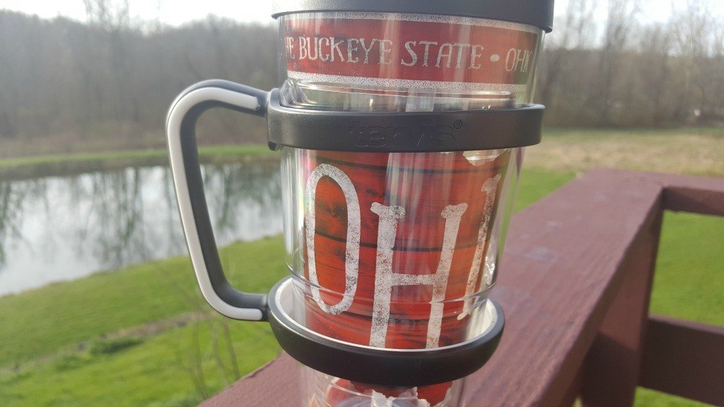 Tervis with a handle