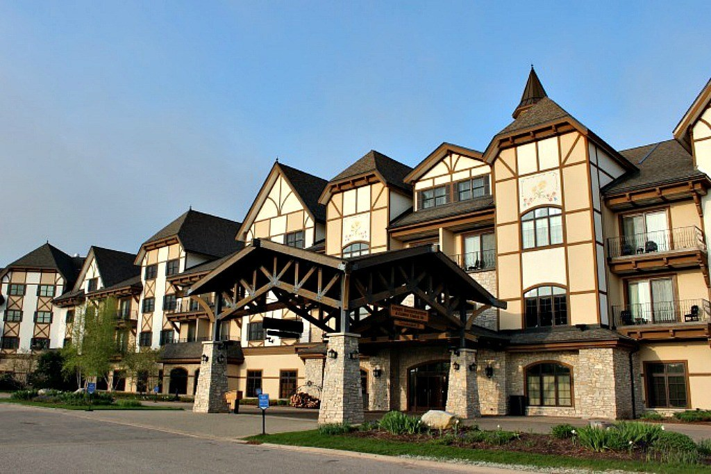 Boyne Mountain Resort near Petoskey, MI provides plenty of outdoor activities for the family.