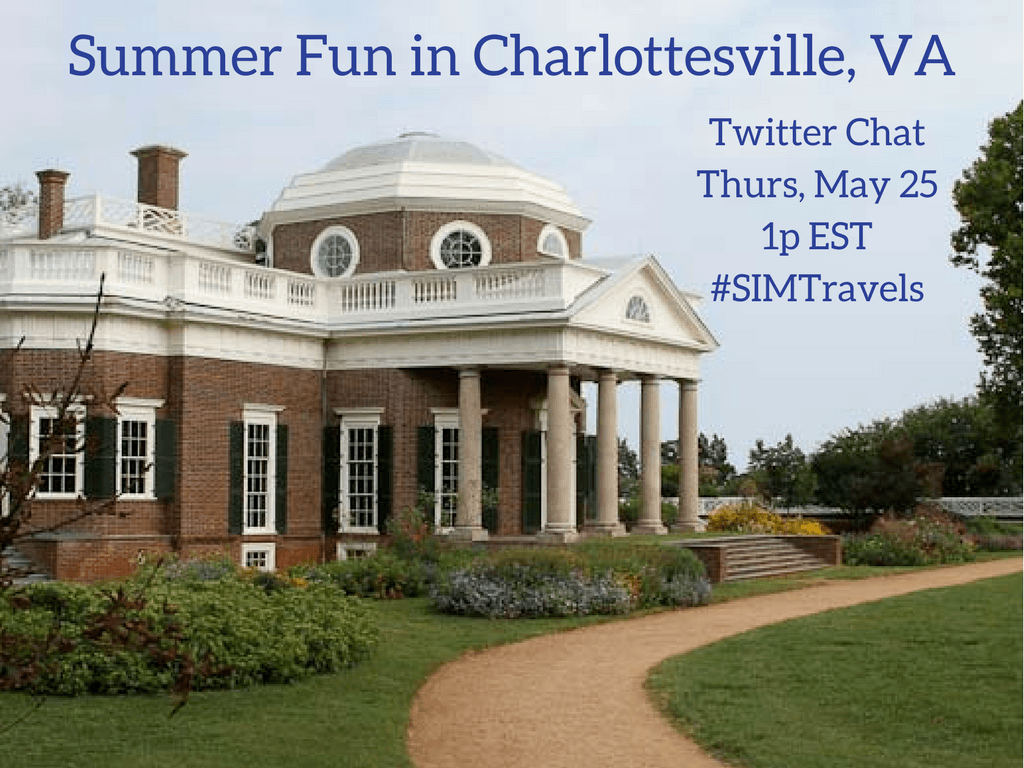 Learn about Charlottesville, VA in a fun Twitter Chat