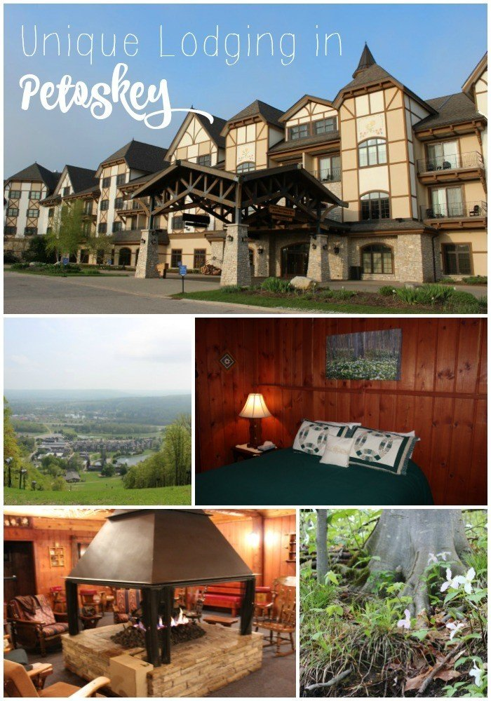 The town is simply charming and what better way to add to the experience than to seek out unique lodging options in Petoskey Michigan that range from Hobbit Homes, a Fairy Lodge, and Castle Rooms.