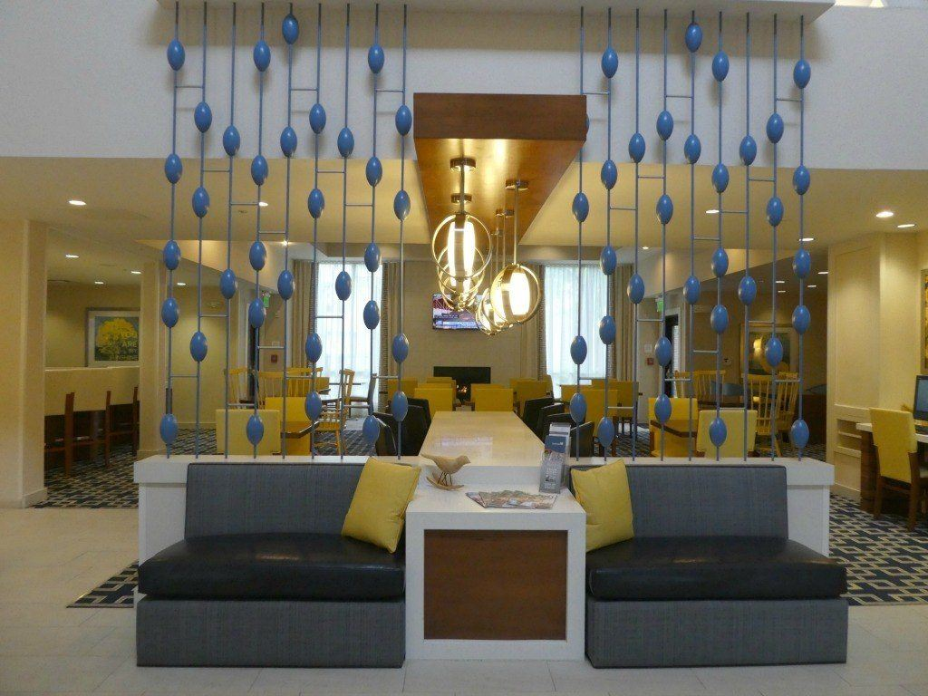 The Lobby of Sonesta ES Suites Dublin