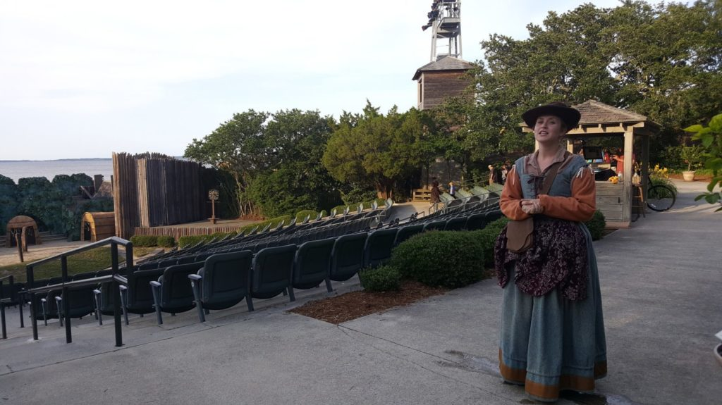 Taking a backstage tour of the Lost Colony