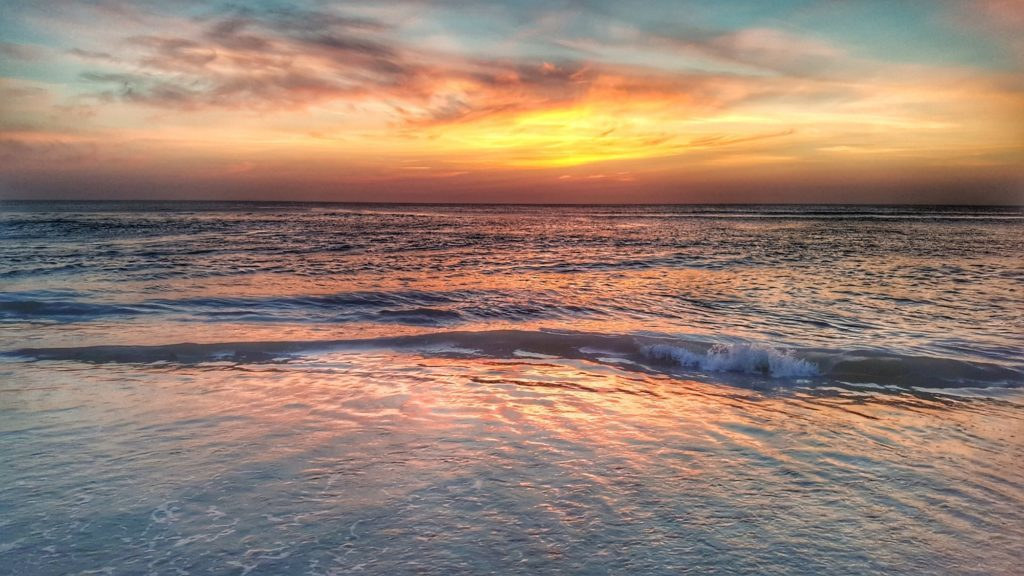 Another beautiful Outer Banks sunrise.