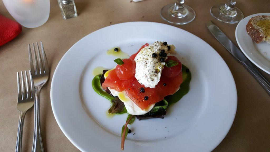 Caprese Salad at Pamlico Cafe