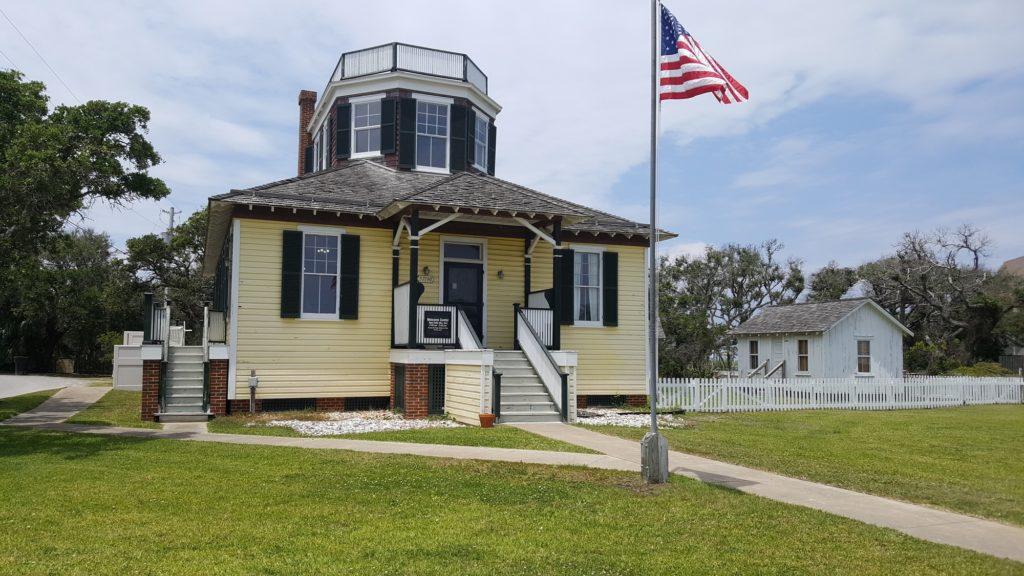 The U.S. Weather Bureau Station