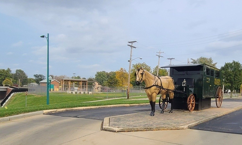 Amish Buggy ATM