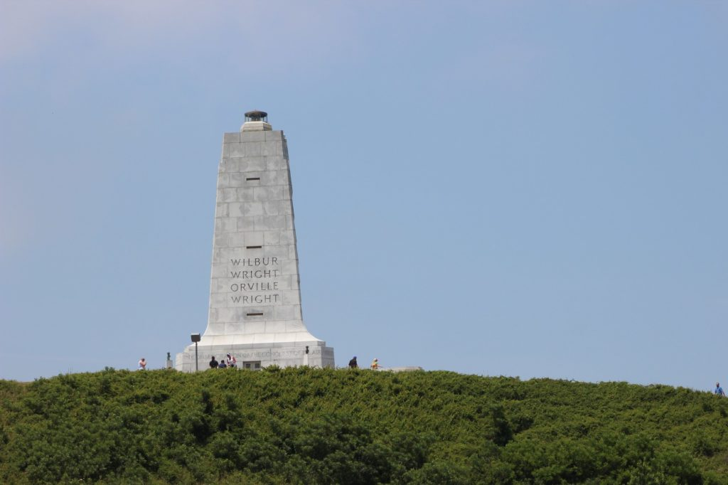 The Monument at the Wright Brothers National Memorial