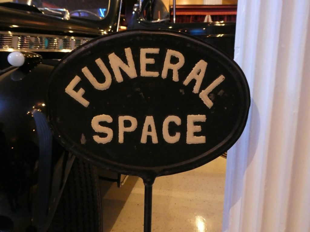 The Mortuary Museum in Marietta is a fun stop that will teach you the history of the funeral business.