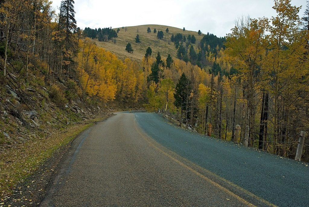 Ruidoso is gorgeous to visit in the fall.