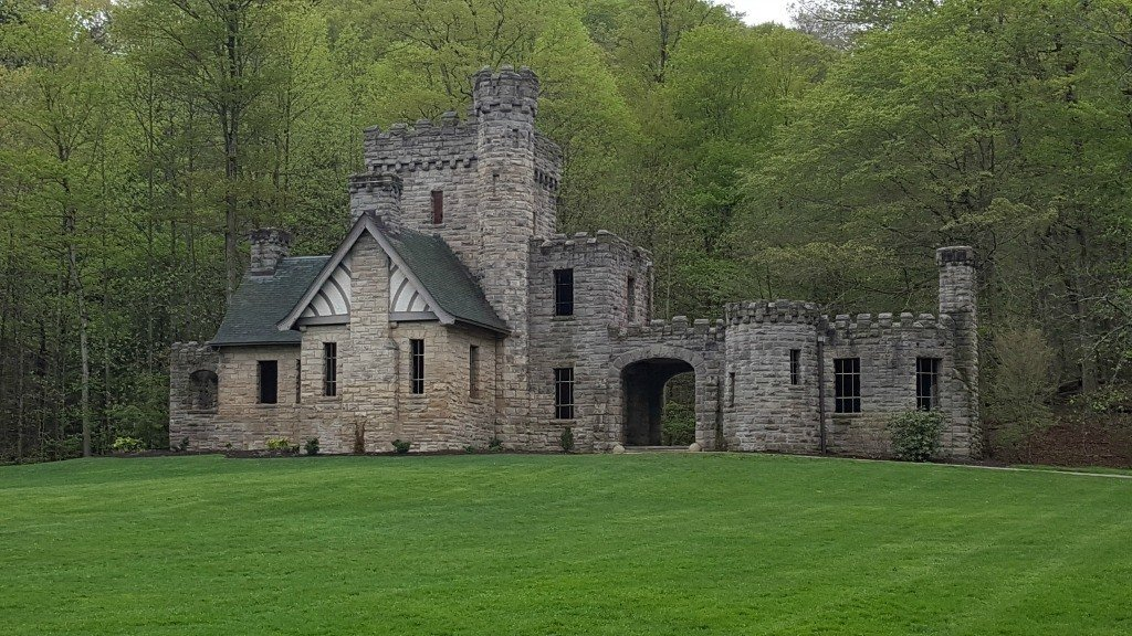 Squire's Castle in the Cleveland Metroparks is free and has plenty of hiking trails.