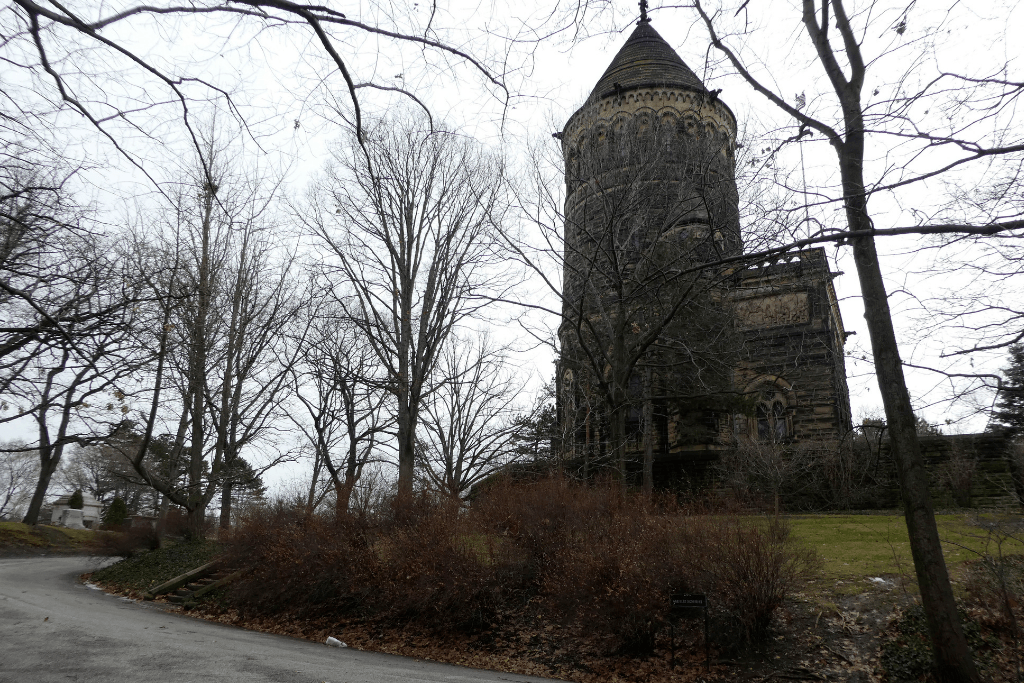 The Garfield Memorial in Lake View Cemetery