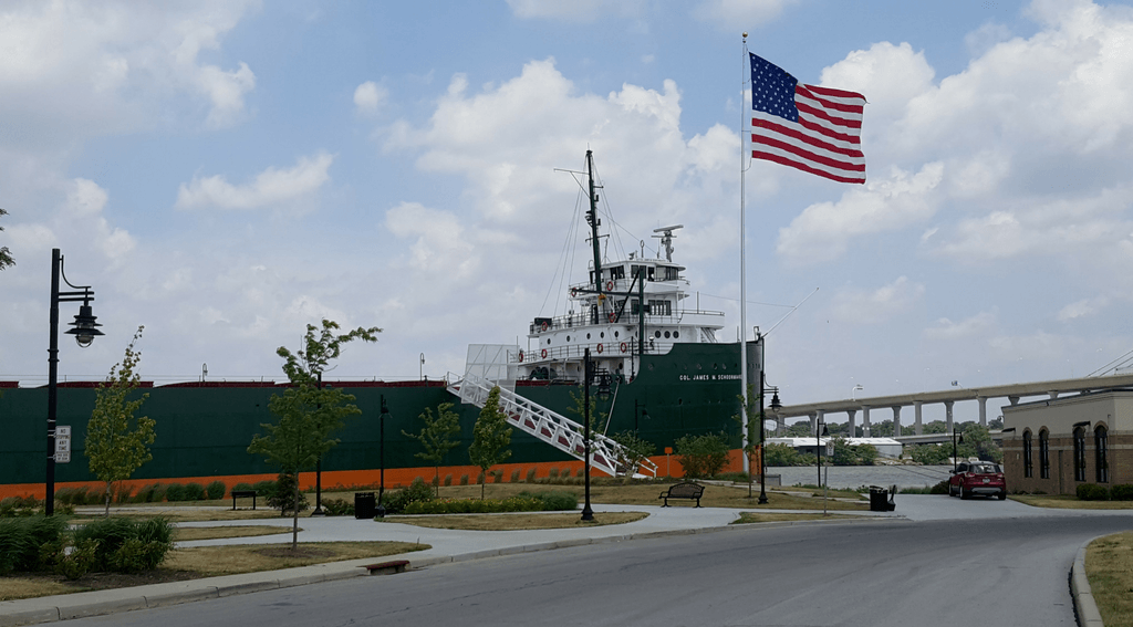 The former world's largest freighter is one of the things to see in Ohio.