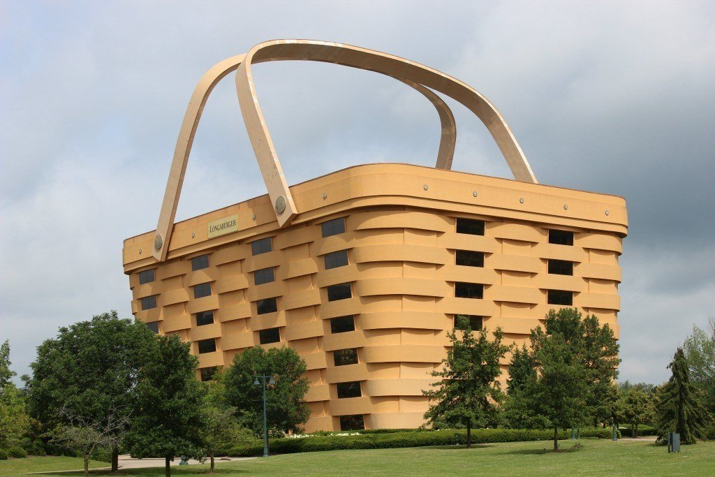World's Largest Basket Building in Newark