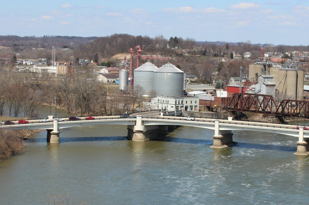 Y Bridge in Zanesville