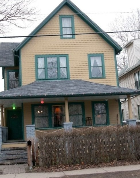 The famous Christmas Story House