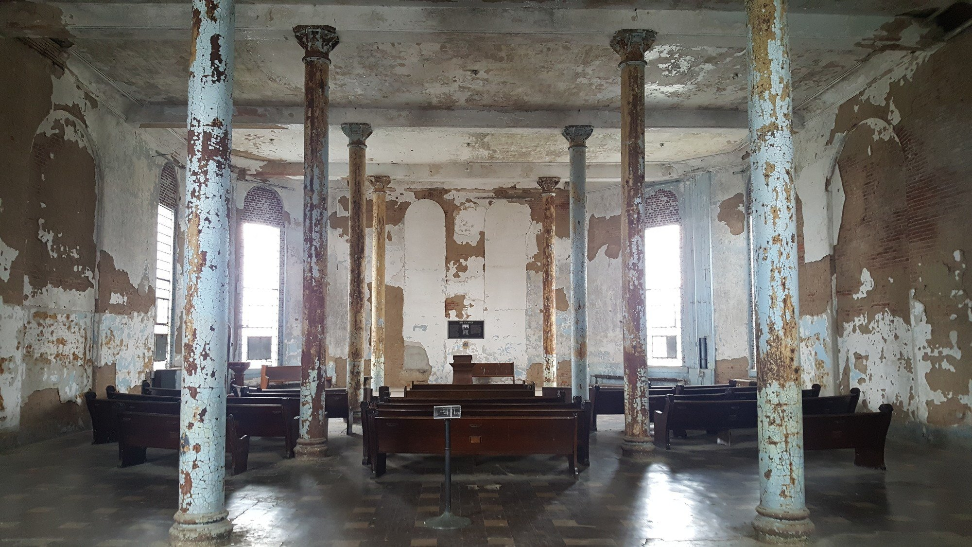 The chapel inside the Ohio State Reformatory