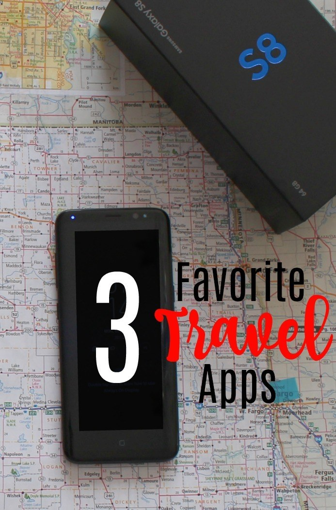 3 Favorite Travel Apps that I use on the Samsung Galaxy 8. #SamsungUnlocked #CollectiveBias #ad