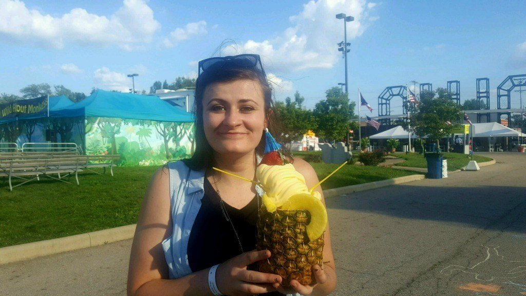 Dole Whip Pineapple from the Ohio State Fair
