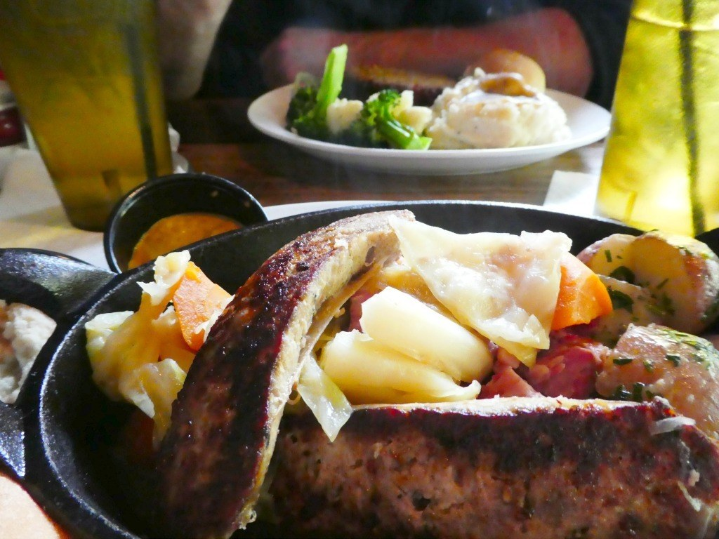 Irish inspired meals at the Dublin Village Tavern Food in Dublin, Ohio