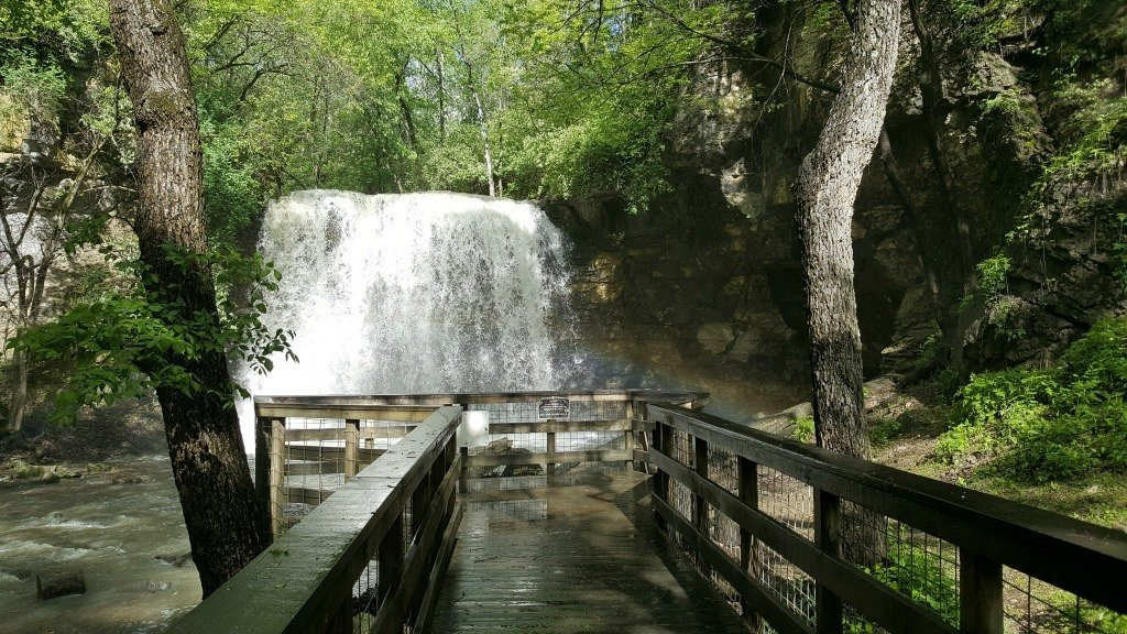 Hayden Falls in Dublin is only one of the waterfalls in the area
